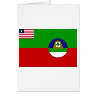 Margibi County Flag Card