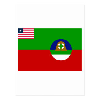 Margibi County Flag Postcard