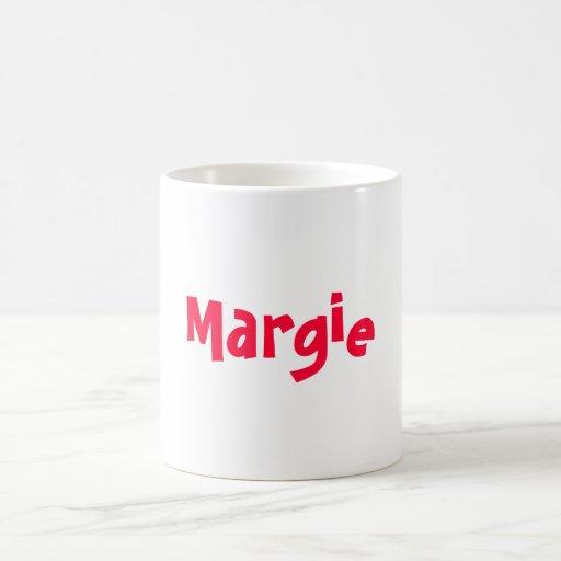 Margie Classic White Coffee Mug