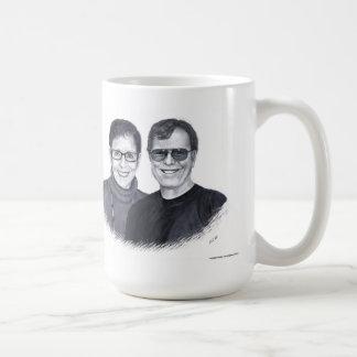 Margie y taza del café de Pat