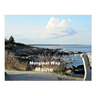 Marginal Way, Maine Postcards
