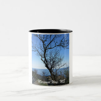 Marginal Way, Maine Two-Tone Coffee Mug