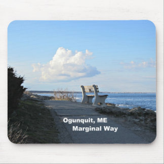 Marginal Way, Ogunquit, Maine Mouse Pad