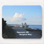 Marginal Way, Ogunquit, Maine Mouse Pads
