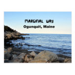 Marginal Way, Ogunquit, Maine Post Card