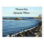 Marginal Way, Ogunquit, Maine Postcard