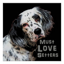 Margo- Must Love Setters Poster