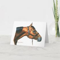 Margo's Horse Card