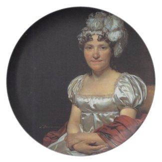 Marguerite Charlotte David plate