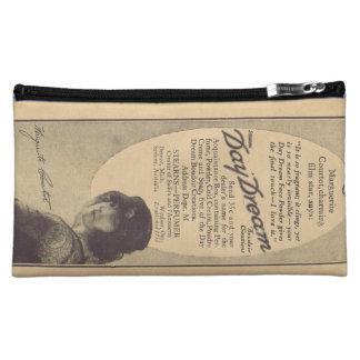 Marguerite Courtot vintage perfume advertisement Makeup Bags