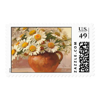 Marguerite Daisy Flowers by Catherina Klein Postage