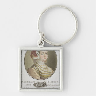Marguerite d'Anjou (1429-82) engraved by Ride, 178 Keychains