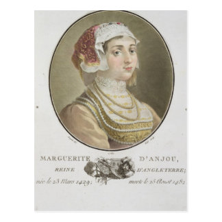 Marguerite d'Anjou (1429-82) engraved by Ride, 178 Postcard