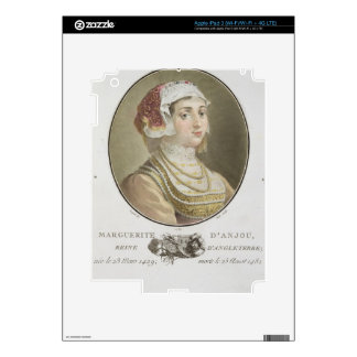 Marguerite d'Anjou (1429-82) engraved by Ride, 178 Skins For iPad 3