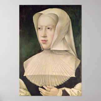 Marguerite de Habsbourg  Duchess of Savoy Poster