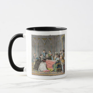 Marguerite de Valois (1553-1615) in front of the S Mug
