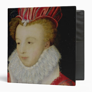 "Marguerite de Valois c.1572 Carpeta 1 1/2"""