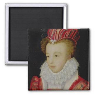 Marguerite de Valois c.1572 Imán Cuadrado
