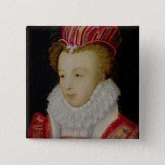 Marguerite de Valois  c.1572 Pinback Button