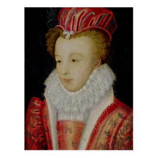 Marguerite de Valois c.1572 Postal