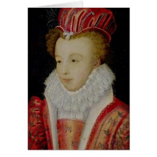 Marguerite de Valois c.1572 Tarjeta De Felicitación
