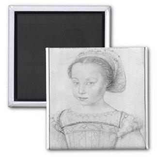 Marguerite de Valois conocido como La Reine Margar Imán Cuadrado