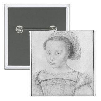 Marguerite de Valois conocido como La Reine Margar Pin Cuadrada 5 Cm