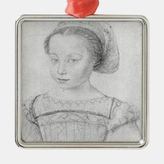 Marguerite de Valois  known as La Reine Margot Metal Ornament