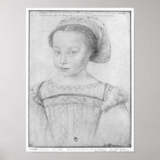 Marguerite de Valois  known as La Reine Margot Poster