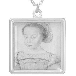 Marguerite de Valois  known as La Reine Margot Silver Plated Necklace