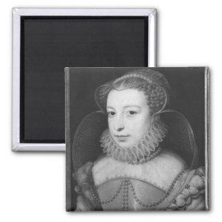 Marguerite de Valois Queen de Navarra Imán Cuadrado