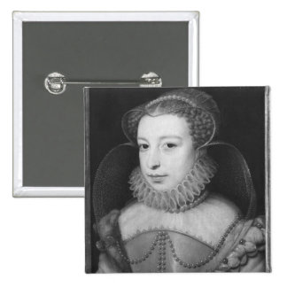 Marguerite de Valois Queen de Navarra Pin Cuadrada 5 Cm