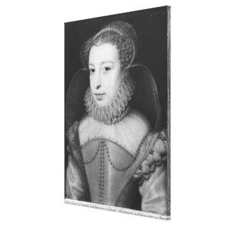 Marguerite de Valois  Queen of Navarre Canvas Print