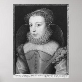 Marguerite de Valois  Queen of Navarre Poster