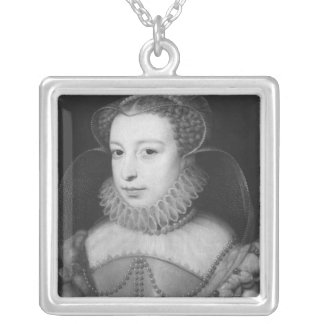 Marguerite de Valois  Queen of Navarre Silver Plated Necklace
