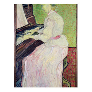 Marguerite Gachet at the Piano, 1890 Post Card