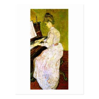 Marguerite Gachet at the Piano, Vincent van Gogh Postcards