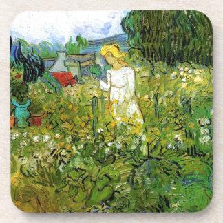 Marguerite Gachet in the Garden Drink Coaster
