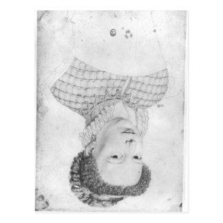 Marguerite of Valois  1568 Postcard