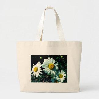 Marguerites Large Tote Bag