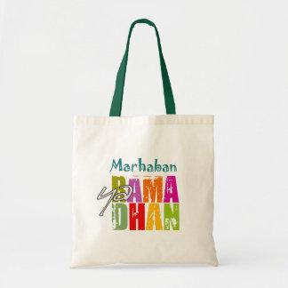 Marhaban ya Ramadhan Canvas Bag