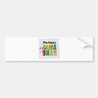 Marhaban ya Ramadhan Bumper Sticker