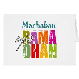 Marhaban ya Ramadhan Card