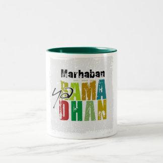 Marhaban ya Ramadhan Two-Tone Coffee Mug