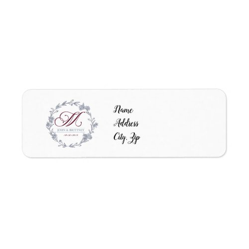 Marhoff Return Address Labels