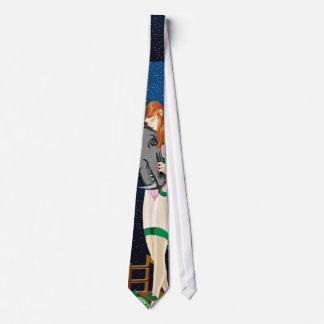 Mari ata corbata personalizada