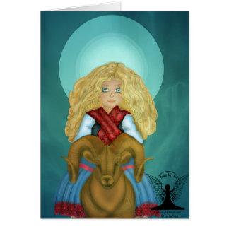 Mari Basque Goddess Card