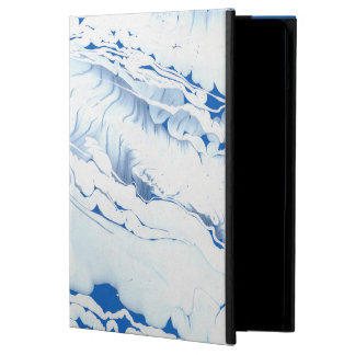 Mari water texture design, marbling paper, waterco case for iPad air