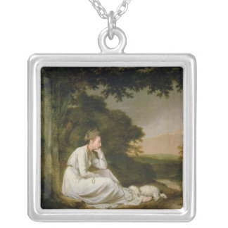 Maria, 'A Sentimental Journey' Silver Plated Necklace