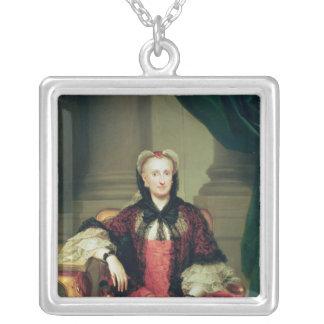 Maria Amalia de la reina de Sajonia de España Colgante Cuadrado